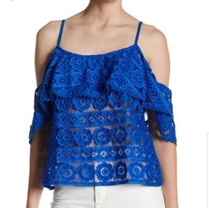 Plenty by Tracy Reese lace knit tank top NWT